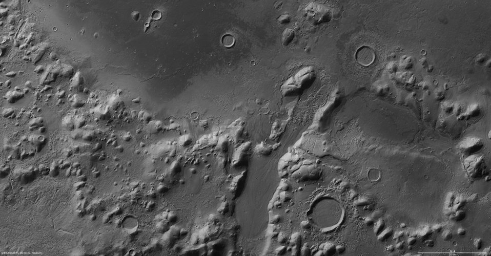 Phlegra Montes in high resolution