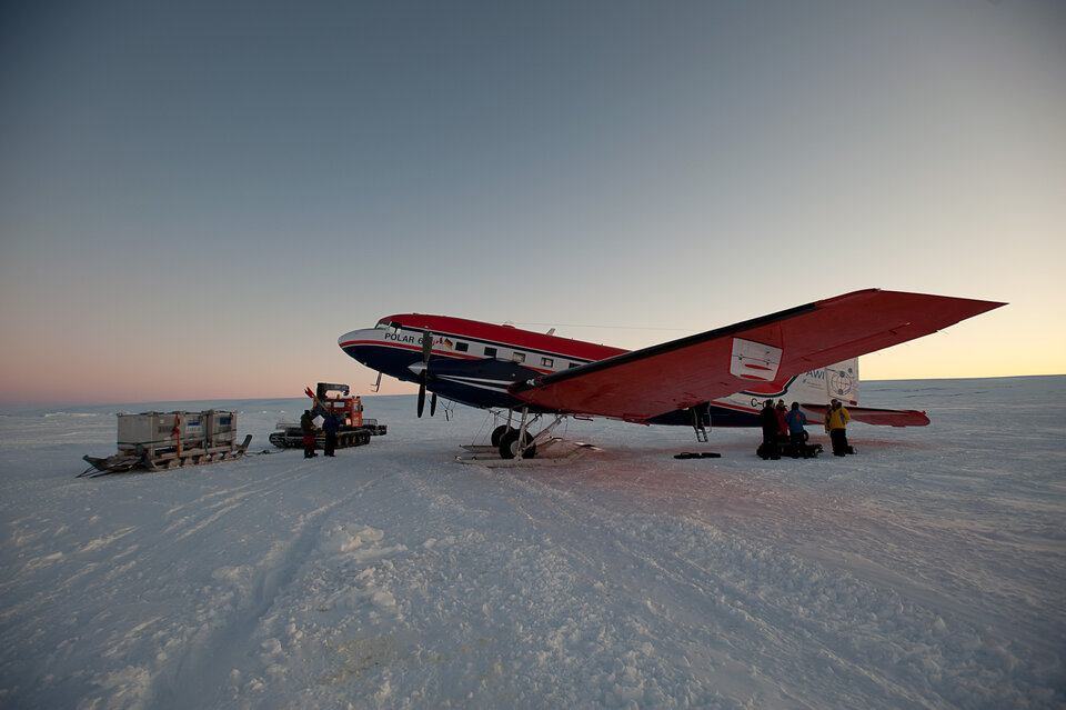 Polar-6 research aircraft