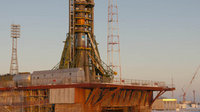 Soyuz launcher ready for flight