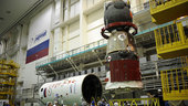 Soyuz TMA-03M inserted into its protective fairing