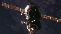 Soyuz TMA-03M on approach to the ISS