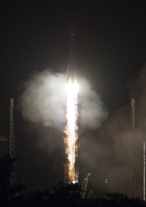Soyuz VS02 liftoff