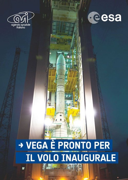 Space in Images - 2011 - 12 - Vega ready for launch