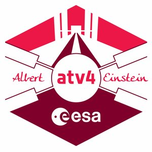 ATV Albert Einstein mission logo