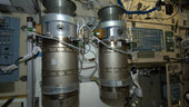 Emergency oxygen tanks, ISS