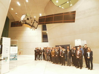 IWG attendees tour Galileo Centre