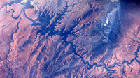 Lake Powell and Colorado River from the ISS