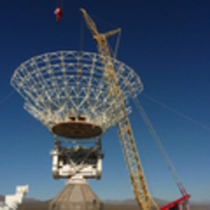 ESA's new 35m deep space station Malargüe, Argentina, ESTRACK