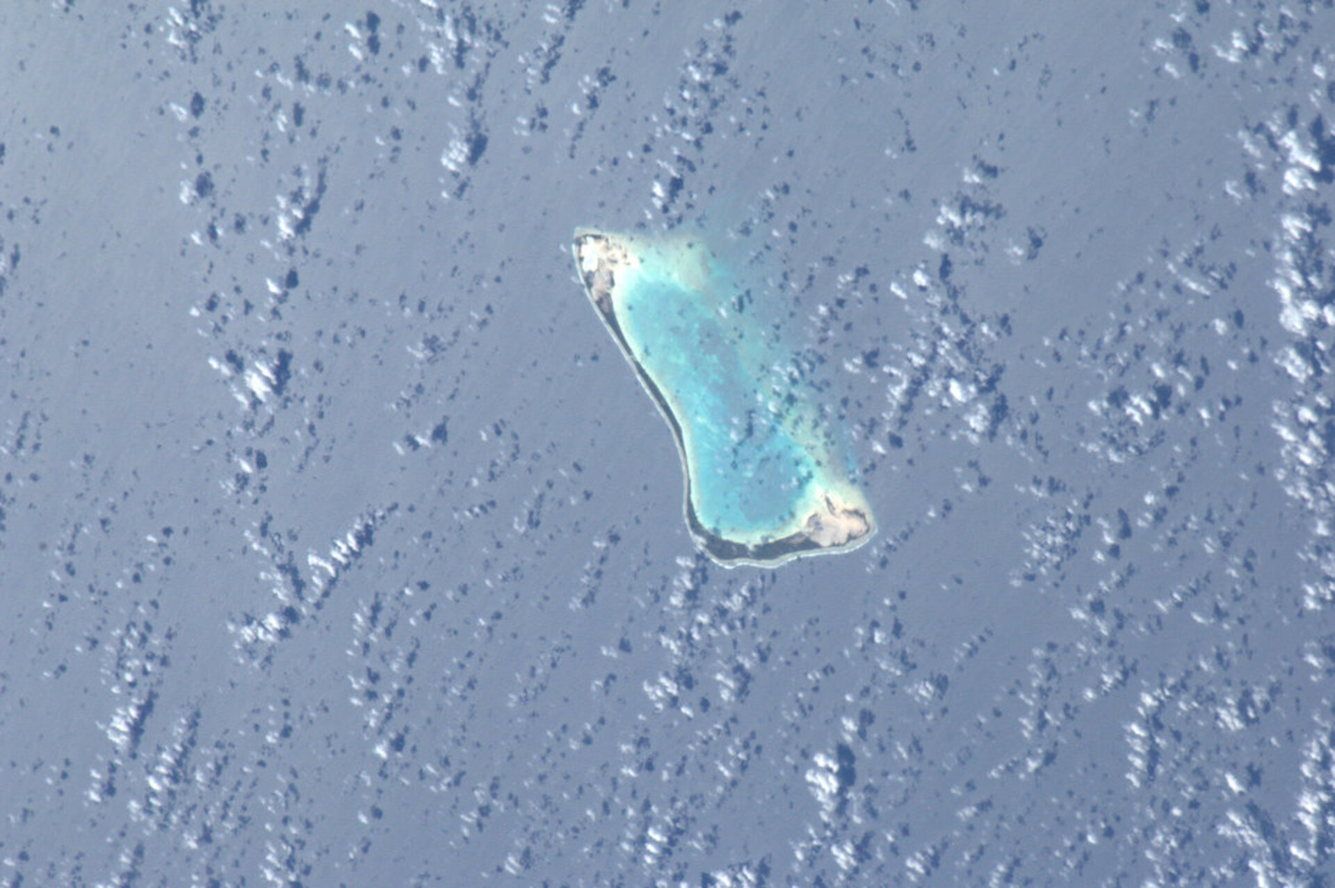 One of the Gilbert Islands, Pacific Ocean