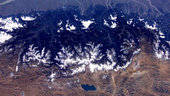 Tibet, the Himalayas and Bangladesh as seen from the ISS
