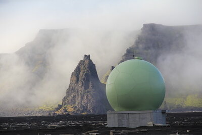 Galileo station on Jan Mayen Island