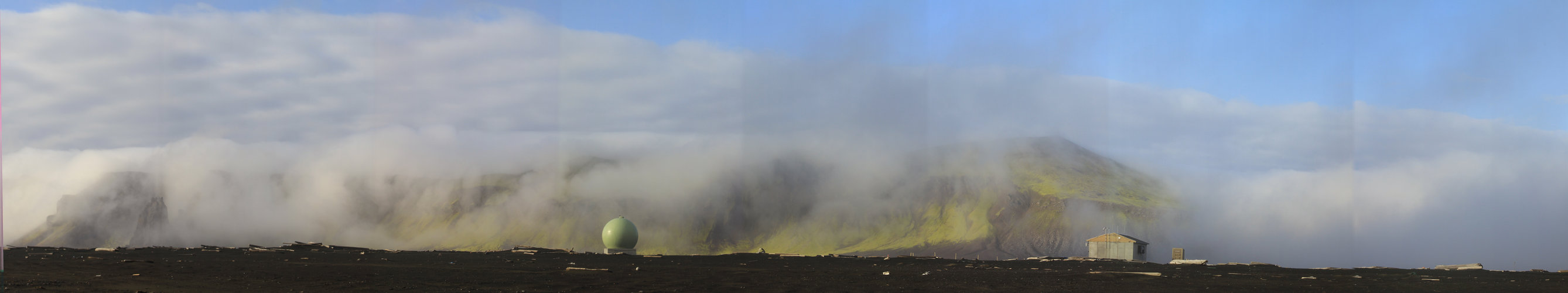 Jan Mayen Island panorama