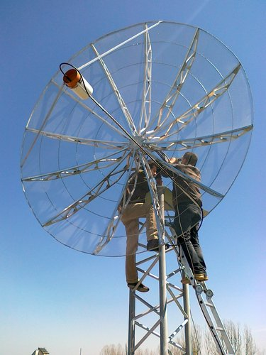 Mounting the S band antennas