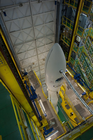 Vega VV01 all set for launch