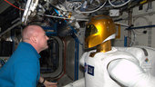 Andre and Robonaut onboard the ISS