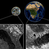 Ephemeral lakes on Titan and Earth