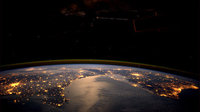 European lights seen by André Kuipers from space