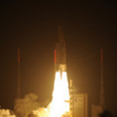 Liftoff of Ariane 5 VA205