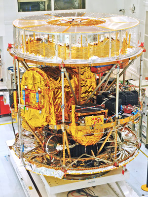 MSG-3 In the cleanroom