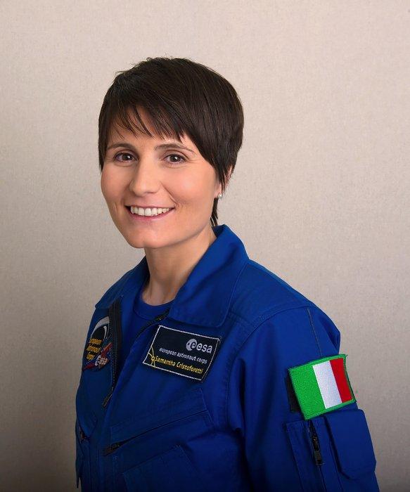 Samantha Cristoforetti, astronauta italiana