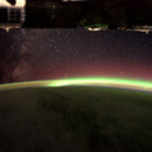 The Milky-Way and Aurora Australis