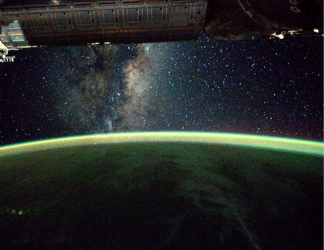The Milky Way, as seen onboard the ISS