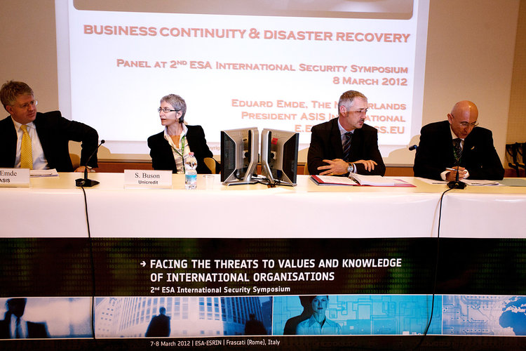 Third Panel : Business Continuity and Disaster Recovery