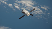 ATV-3 approaches Space Station