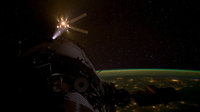 Breath of the dragon as ESA's ATV Amaldi nears the ISS