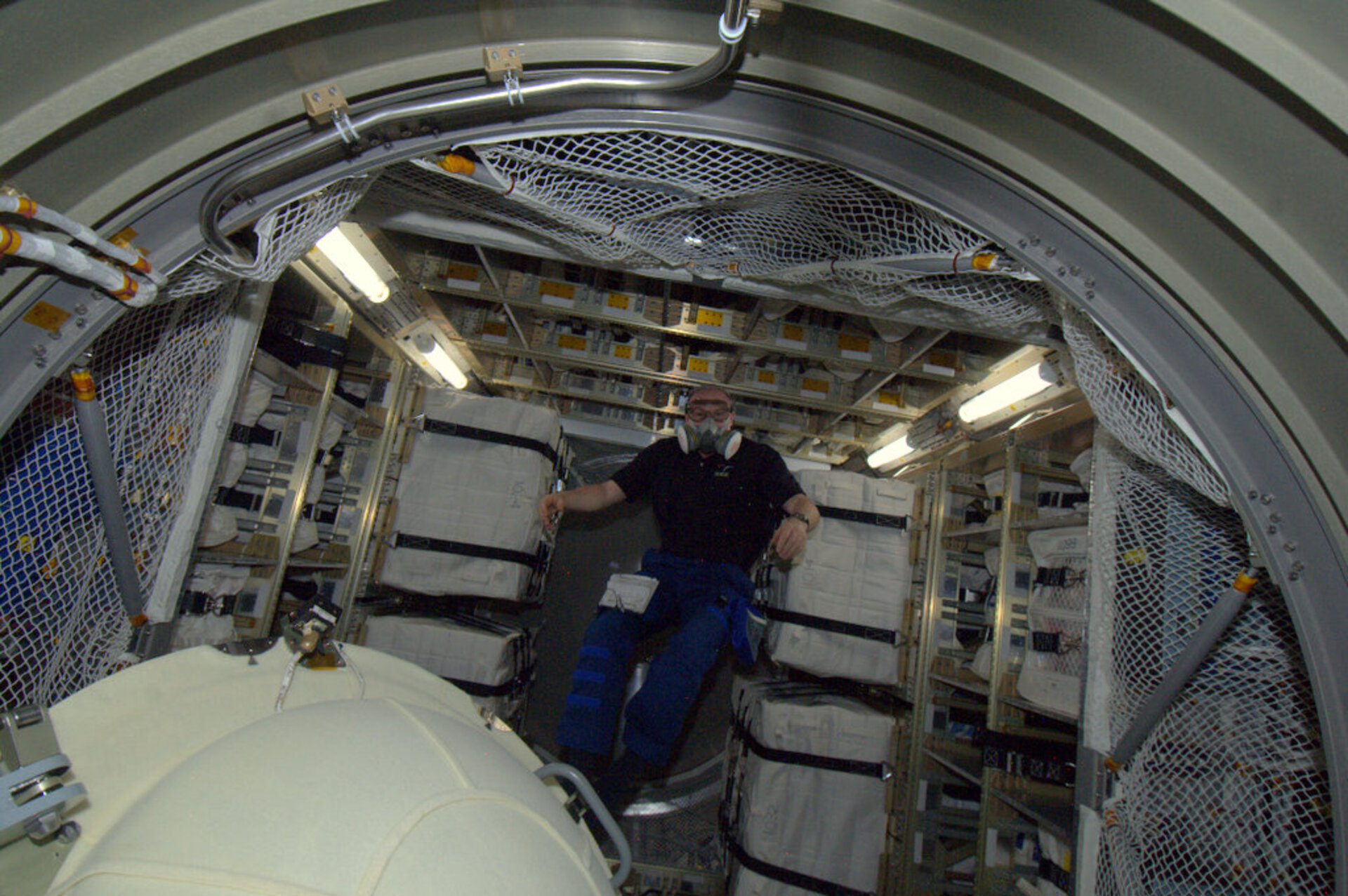 First image of Kuipers inside ATV-3