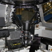 Nightpod mounted on Cupola mock-up
