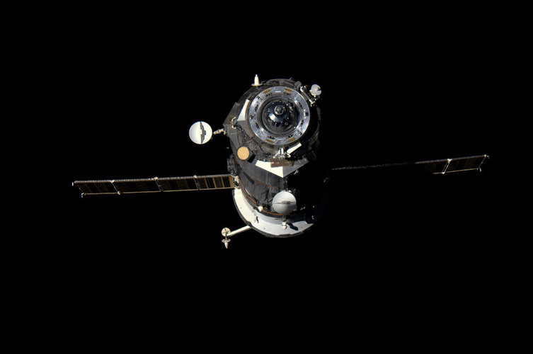 Progress cargo freighter detached from the ISS