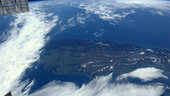 South Island, New Zealand, seen from the ISS