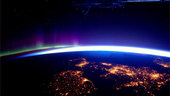 The UK and Ireland at night