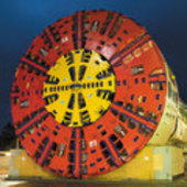 TBM for motorway tunnel in Madrid