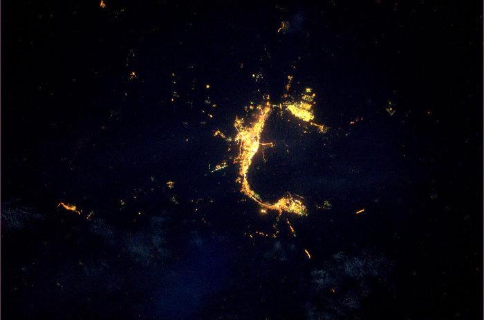 Imagenes nocturnas de la Tierra