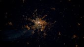 Berlin, as seen from the ISS