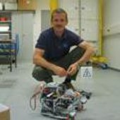 Chris Hadfield at EAC, Cologne, to train on Mocup
