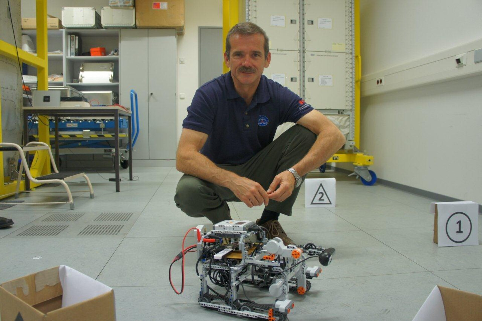 Chris Hadfield at EAC