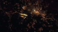 Frankfurt, as seen from the ISS