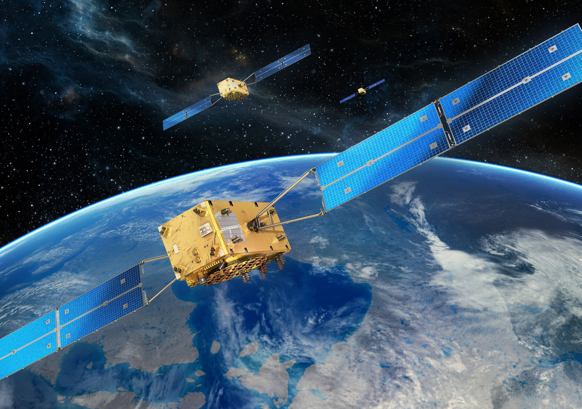 Galileo FOC satellites
