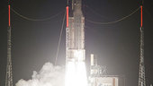 Liftoff of Ariane VA206