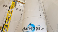 Ariane 5 fairing ready for MSG-3 encapsulation