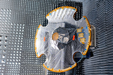 Gaia antenna in test chamber