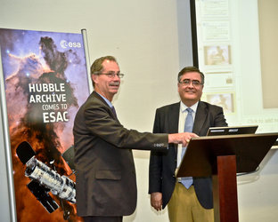 Hubble archive moves to Spain