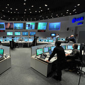 Main Control Room at ESA's Space Operations Centre, Darmstadt