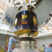 MSG-3 mating to Ariane 5 launcher
