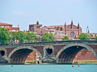 Pont-Neuf bridge, Toulouse