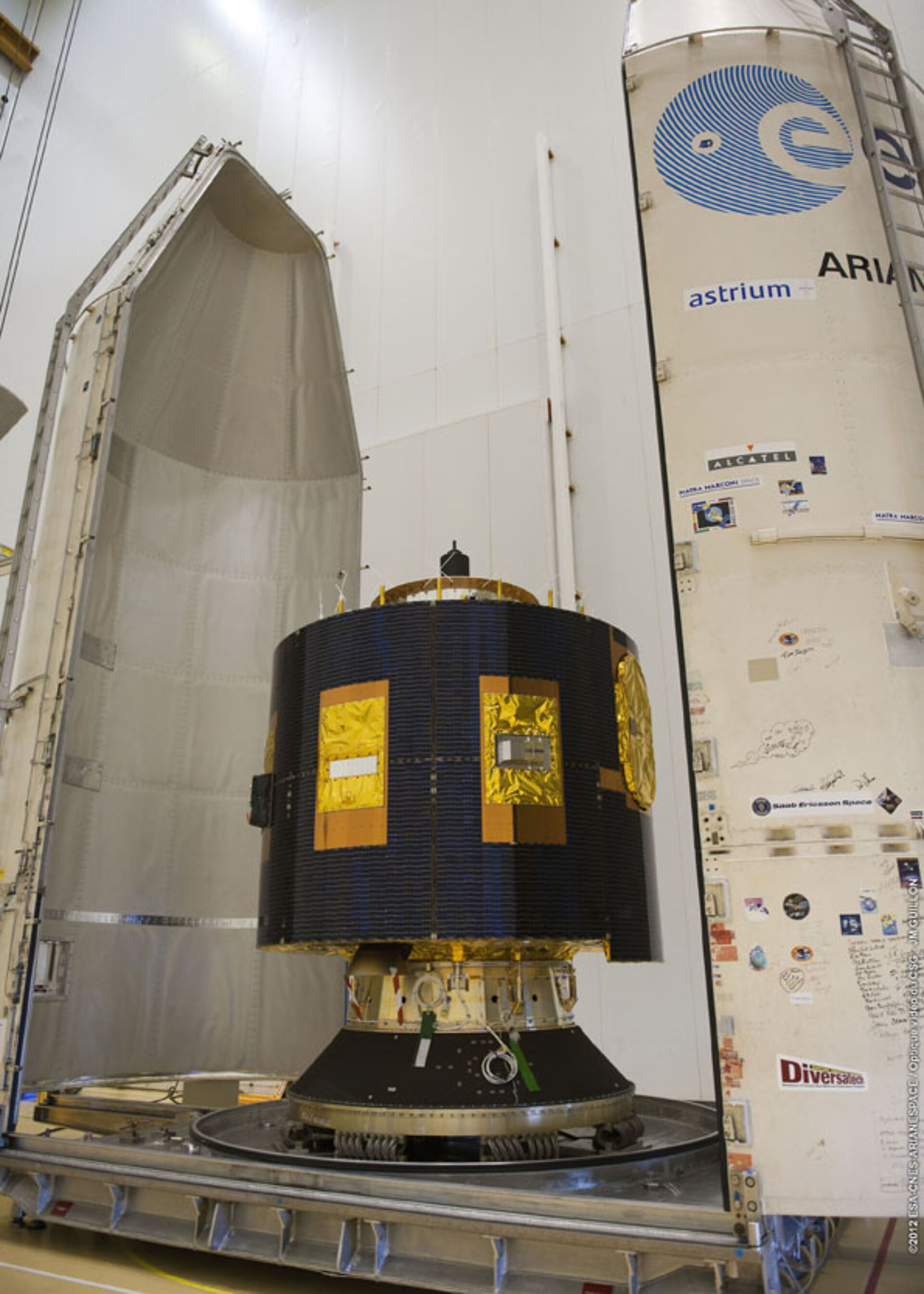 Preparations continue for MSG-3 launch