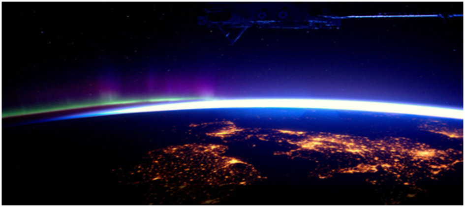 The UK and Ireland as seen by ESA astronaut André Kuipers from the ISS